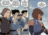 Lin tells Korra of the hostages
