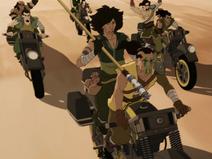 Gombo's barbarians