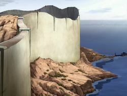Sea view of great wall