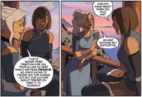 Kya y Korra