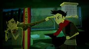 Mako contra la pitonconda