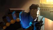 Shinobi vor dem elektrischen Schock