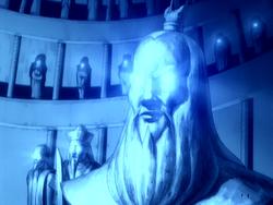 Standbeeld Roku in de Zuidelijke Luchttempel