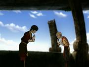 Aang und Zuko Versöhnung