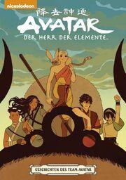 Geschichten des Team Avatar Cover Deutsch