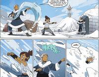 Комикс Друзья Катара учит Корру
