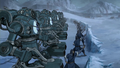 Northern Water Tribe soldiers defending portal.png