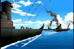 Vuurnatie Marine blokkade