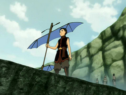Aang's new glider