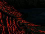 Sichelinsel nach Zerstörung
