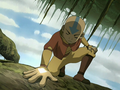 Aang using the vines' connection.png