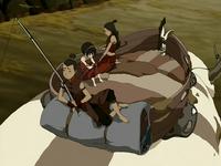 Appa's third saddle