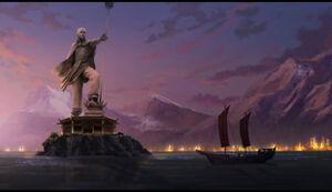 ОР статуя Аанга