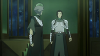 Kuvira attempting to convince Suyin