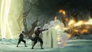 Mako und Bolin verteidigen das Geisterportal