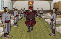 Fire Nation boot camp