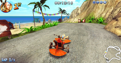 File:Aang racing in Nick Racers Revolution 3D.png