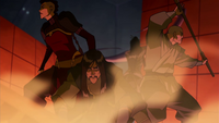 The Red Lotus uses lava as cover