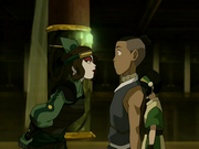Ty Lee and Sokka