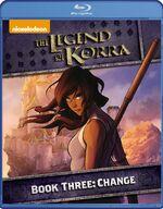 DVD обложка Корра Книга 3