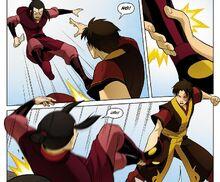 Комикс П2 Зуко побеждает Азулу