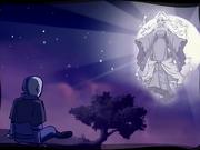 Aang en Escape del Mundo de los Espíritus