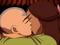 Katara küsst Aang