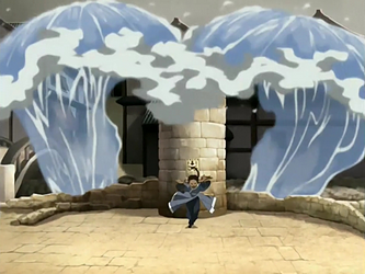 File:Katara attacks Jet.png