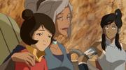 Kya, Jinora, y Korra