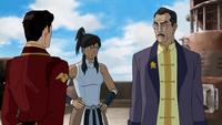 Raiko ordenando Iroh