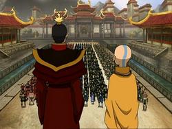 Aang and Zuko speech