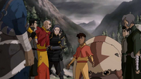 Kai and Team Avatar