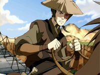 Zuko crossing a bridge