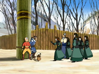 Interrogation at Kyoshi Island