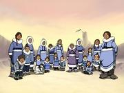 Miembros de la Tribu Agua del Sur