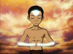 Aang meditatie