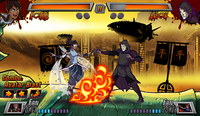 Super Brawl 3 combo Avatar blast