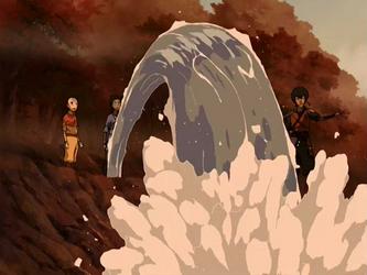 File:Aang and Katara helping Jet.png