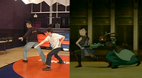 Real life to animation