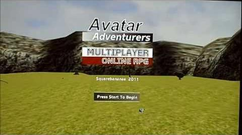 Avatar Adventurers online Xbox 360 commercial