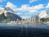 Ciudad República, Parte 1: El Avatar Aang