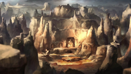 Air Nomad caves