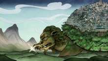 Feuer Löwenschildkröte