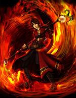 Fire mage boy 2