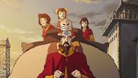 Tenzin and family