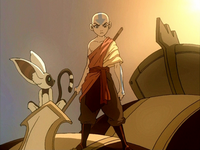 Aang determined