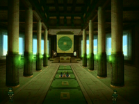 Main hall of Fong's fortress