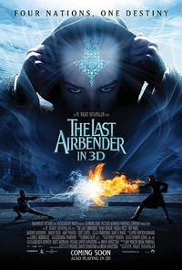 Film - The Last Airbender Poster 1