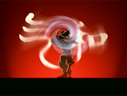 Opening unknown airbending