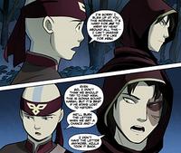 Aang and Zuko talk